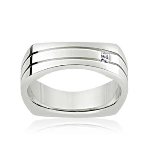 Diamond set Men's ring
