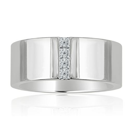Another princess cut diamond wedding ring